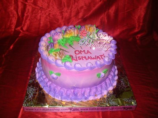 Kue Ulang Tahun Floral